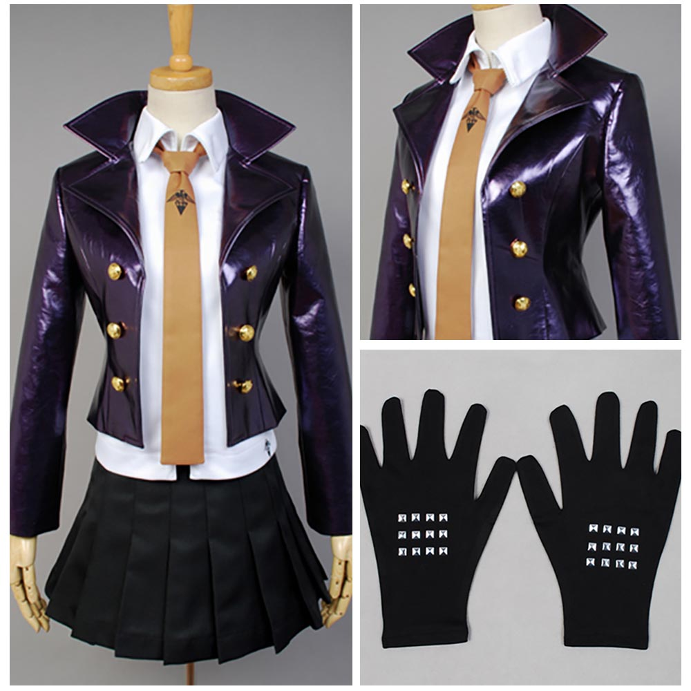 2017 Dangan Ronpa Danganronpa Kyoko kirigiri kyouko Cosplay Costume Halloween Carnival Costumes For Women Girls