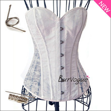 Burvogue Sexy Bridal Corset / White Lace
