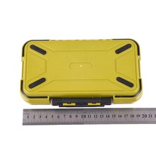 Hot Sale! Waterproof Plastic Large Storage Case Fly Fishing Box Lure Spoon Hook Bait Fishing Tackle Box Army Green