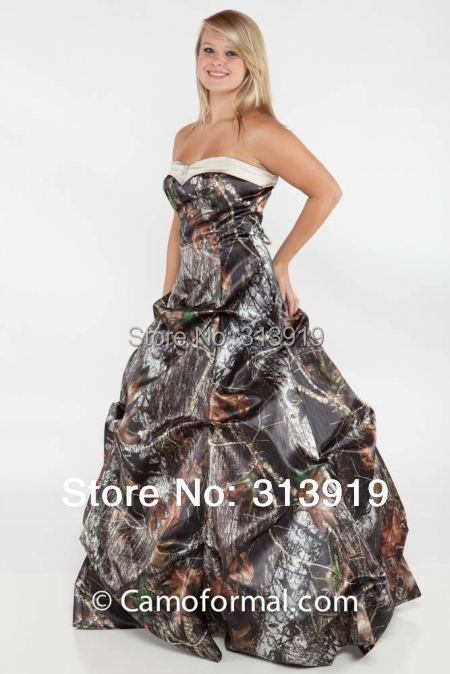 camouflage wedding dresses 2019 mossy oak camo vestido de noiva size 0  custom make free shipping dec6630175ff