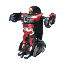 WLtoys Induction RC Car 1:14 Electric Car Transformation Robots Models Remote Control Deformation Car RC fighting Toys For Boys