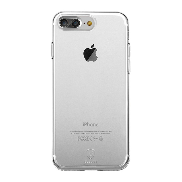 Soft Transparent Case for iPhone
