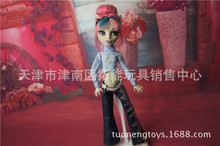 Genuine fashion Children american Girls Gift clothes suit,10pcs/lot party wedding dress For Original Monster High Dolls 1/6