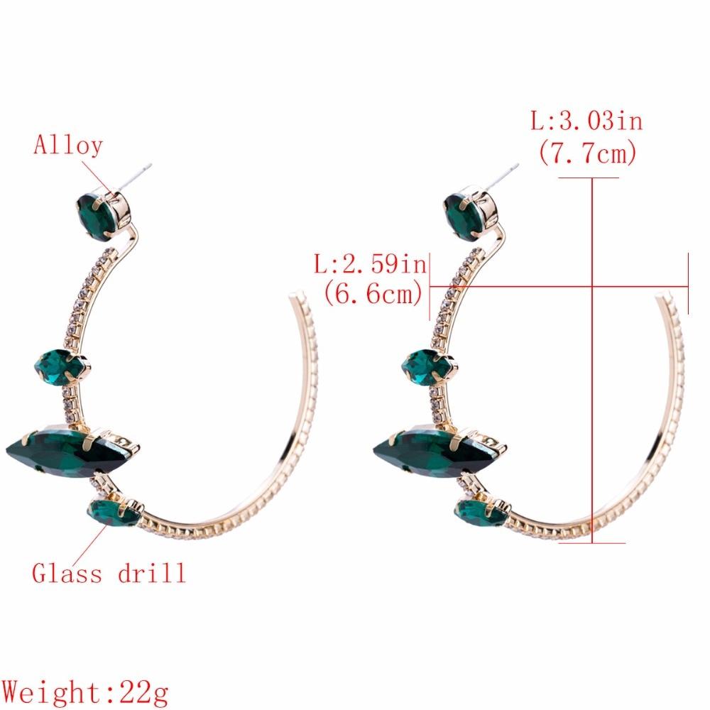 ... Fashion Jewelry Boho Maxi Collection Earrings Accessories. Material  rhinestone. 100% Alloy plated HTB164y9XY1YBuNjSszeq6yblFXaV  8872286469 786828687 ... dbce017aba67