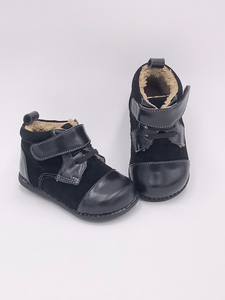 Image 5 - Tipsie Toes 2020 New Winter Children Shoes Genuine Leather Martin Boots Kids Snow Girls Boys Rubber Fashion Sneakers