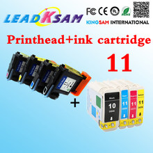 Printhead Printer Kompatibel untuk HP11 Pengganti 10 11 100 120 K850 Inkjet 1000 1100 1100(China)