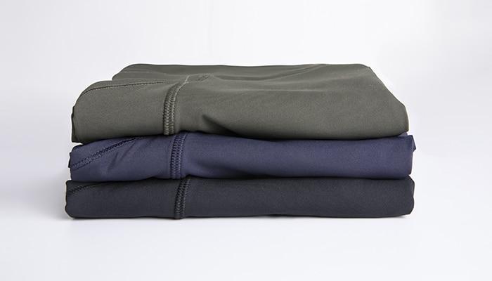 Syrokan calças de yoga de cintura alta
