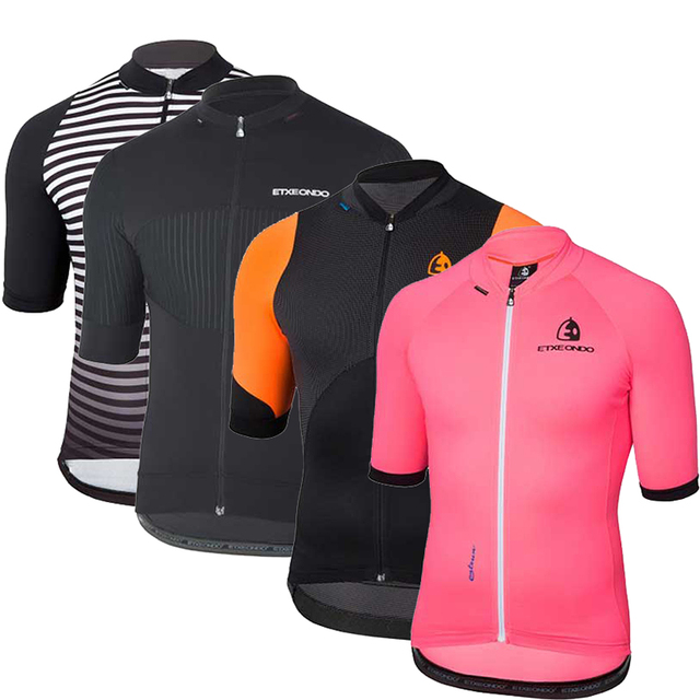 Pro Team Etxeondo 2019 Summer Cycling Jersey Shirts Maillot Ciclismo for Men Short Sleeve Quick Dry MTB Bike Clothing Tops Wear