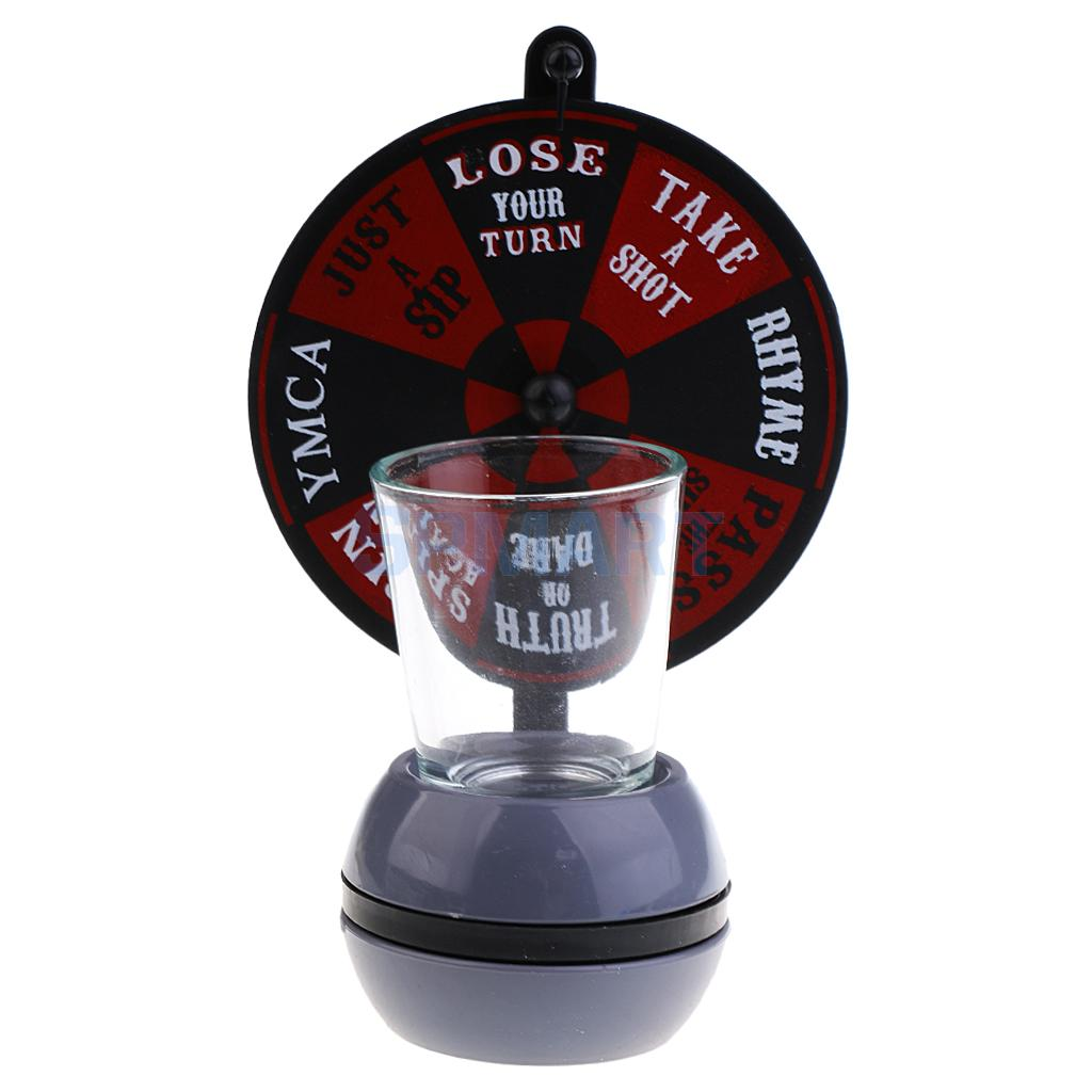 Turntable Drinking Glass Game