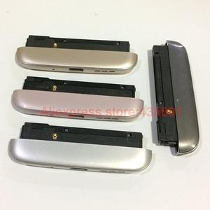 Image 2 - Pour LG G5 H850 H840 H860 haut parleur sonnerie couvercle inférieur capuchon USB Port de charge Module pour VS987 RS988