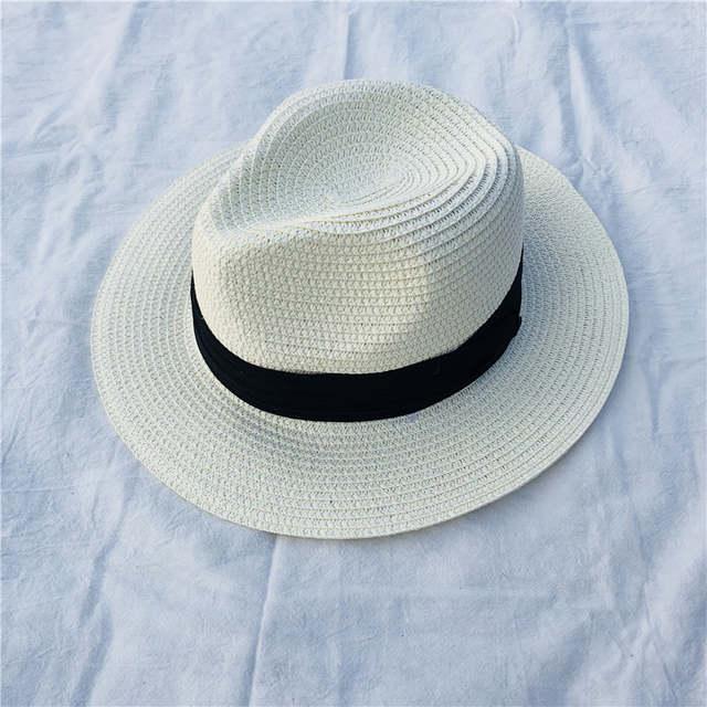 feae0a8fa6772 placeholder Hombre sombrero sombreros verano mar Sol sombrero casual  vacaciones Panamá paja plegable chapeau mujeres ala ancha