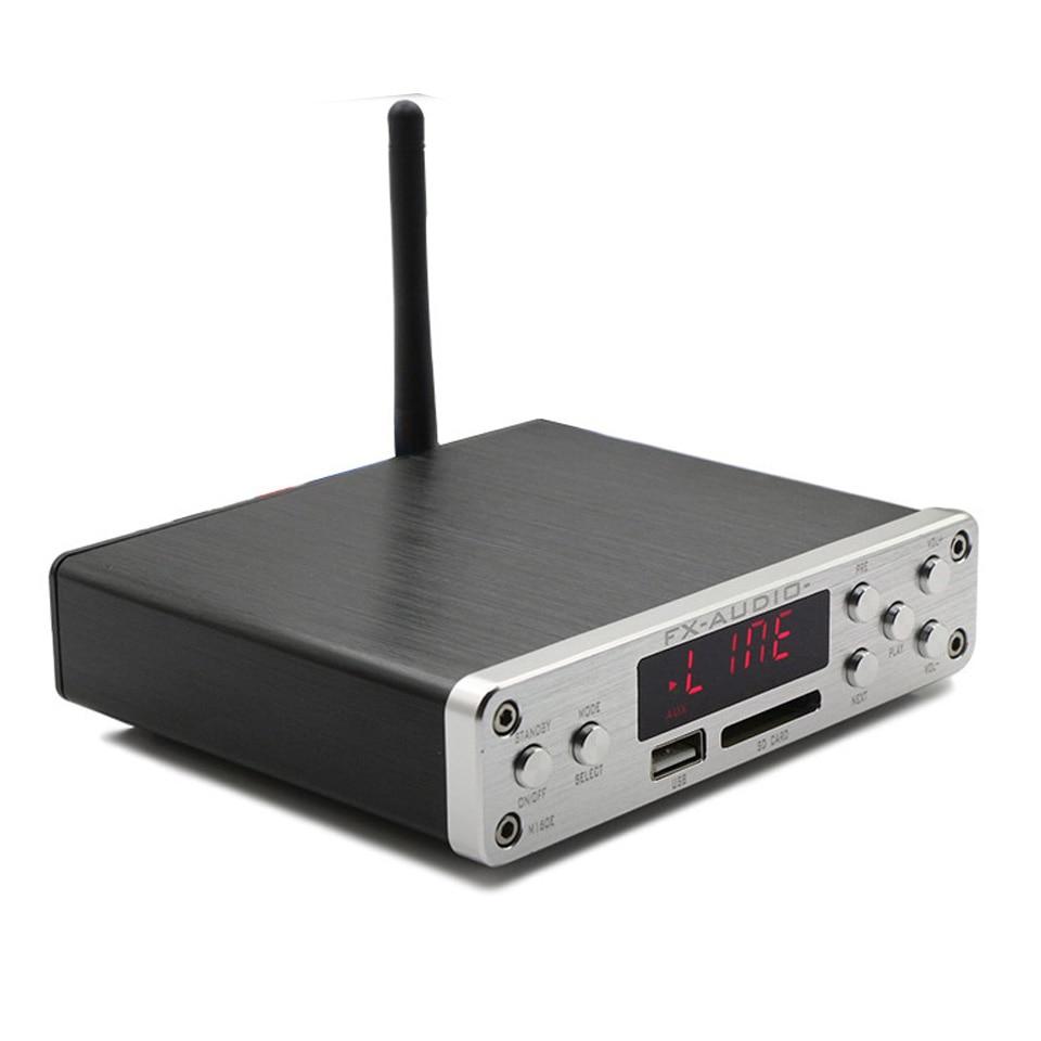 FX-Audio M-160E Bluetooth 4.0 Digital Audio Amplifier Input USB/SD/AUX/PC-USB Loseless Player For APE/WMA/WAV/FLAC/MP3 160W*2 ayse evrensel international finance for dummies