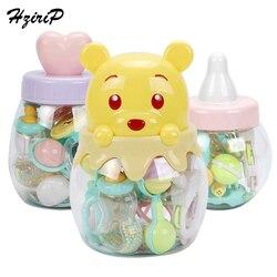 Hzirip вареные детские погремушки колокольчик прекрасный Прорезыватель игрушка для новорожденных мягкий ребенок подарок 0-12 месяцев безопасн...