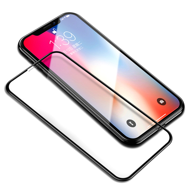 Protecteur D'écran en verre Pour iPhone 8 7 6 S Plus X 1