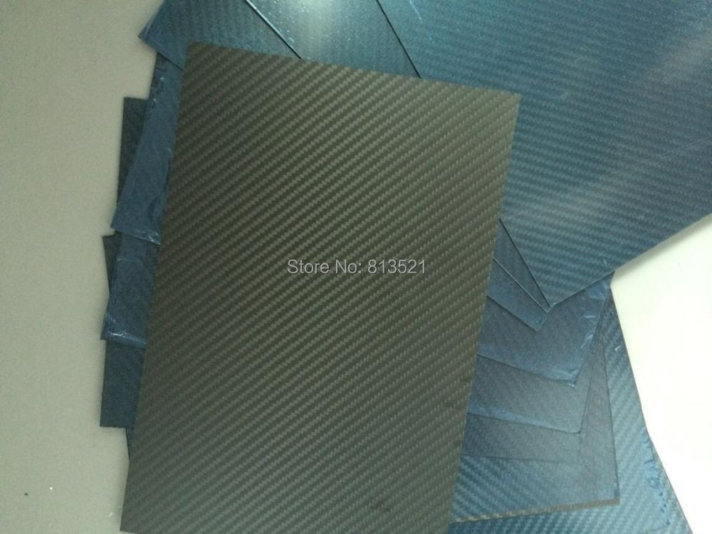 все цены на  HCF007 Free shipping by DHL + 10pcs 1.5X200X300mm 100%/Full Carbon fiber twill matte plate/sheet/board  онлайн