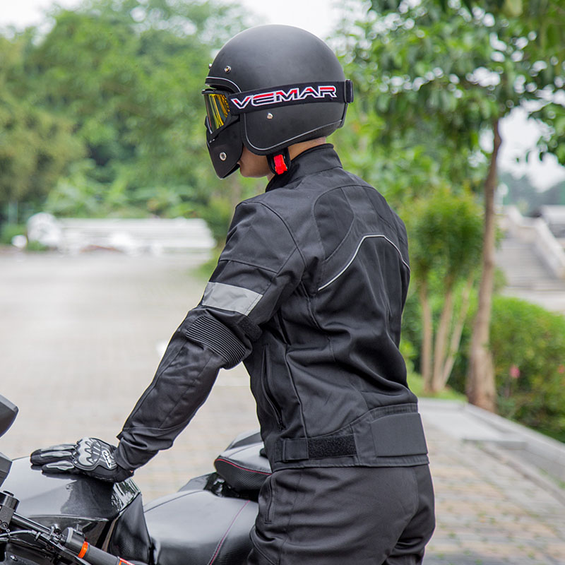 Motor Jacket Summer Shatter-resistant Suit Mesh Breathable Motorcycle Suit Jacket Racing Suit Knight Equipment With Protective