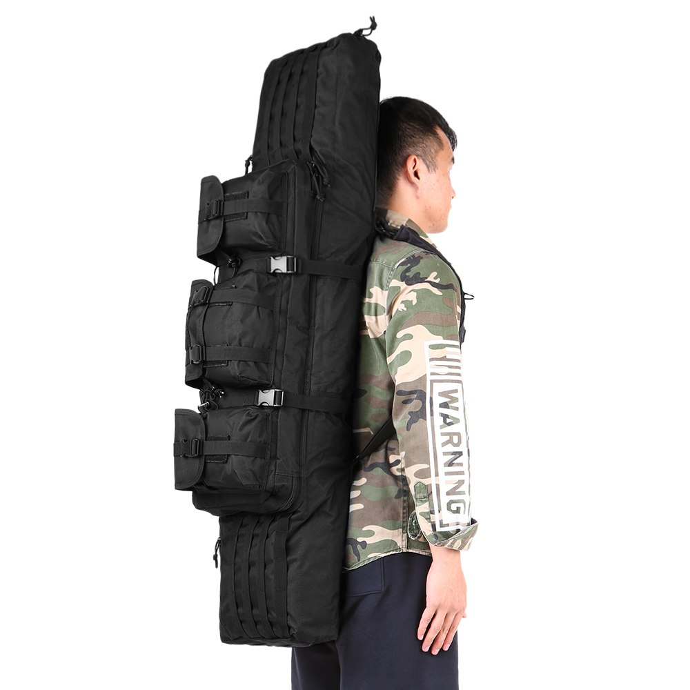 Outdoor Padded Barrel Carrying Bag Hunting Gear Backpack Tactical Hunting Backpack With Shoulder Sling Strap