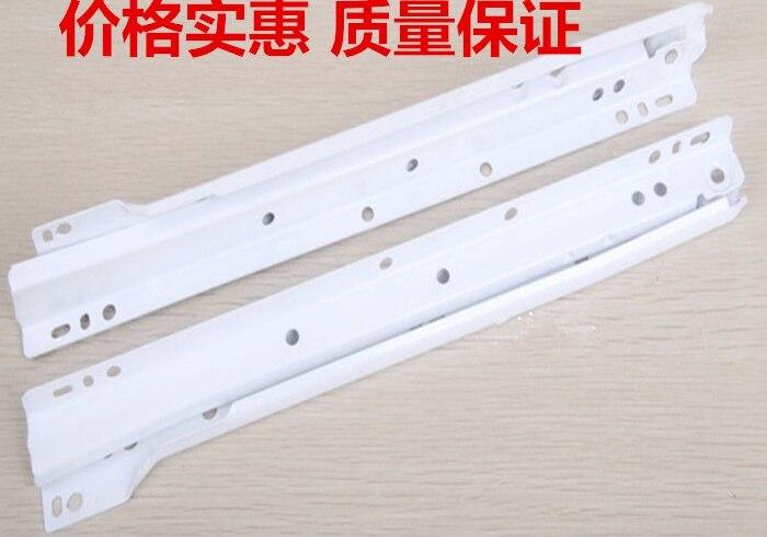 Kast Kledingkast Lade Rails Twee Rail Verf Roller Slide