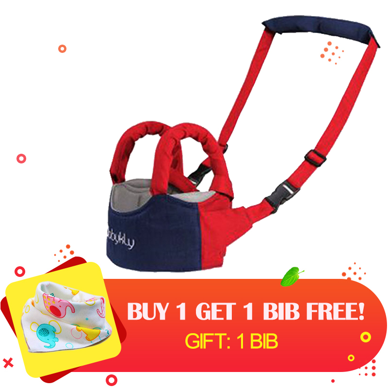 BABYKLY Baby Walker Assistant Toddler Leash Backpack For Kids Walking Baby Belt Child Safety Harness Leash Baby Walker Assistant
