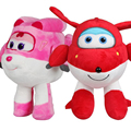 2017 Super Wings Jett  Cartoon 22cm Plush Action Figure Toys