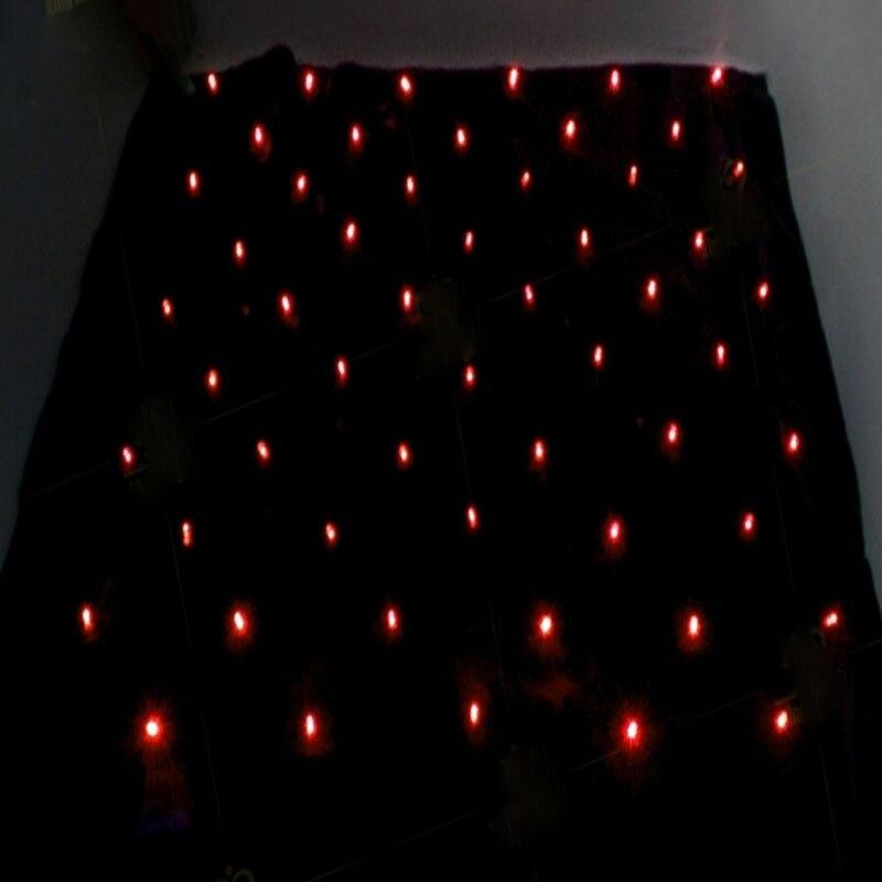 Blendo sac (rouge/bleu) lumières tours de Magie attrayant scène magique produire lumières accessoires de Magie Gimmick accessoires de Magie mentalisme - 2