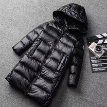 Boys Down Jacket Ultra-light White Duck Down Jacket for Girls Winter Coats Warm  Kids Snowsuits Winter Overcoat 1-14 Years boys jacket winter 2018 new brand baby boy winter feather parkas for teenagers girls warm down coats high quality 2 8 years