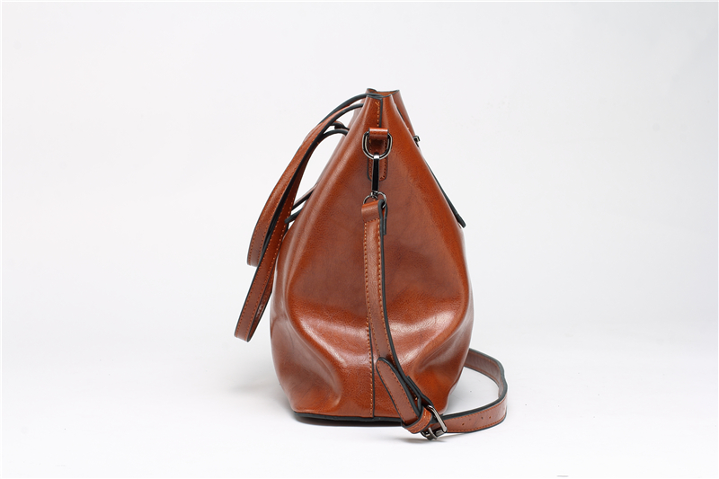 DIDA BEAR Brand Women Leather Handbags Lady Large Tote Bag Female Pu Shoulder Bags Bolsas Femininas Sac A Main Brown Black Red 11