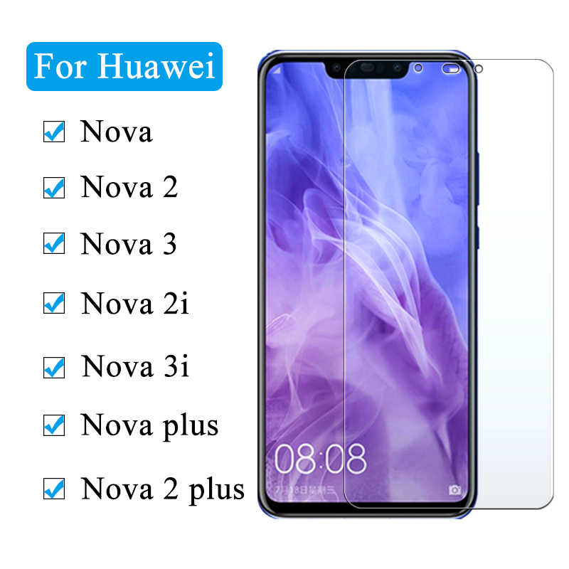 Screen protector For Huawei Nova 3 3i 2S Lite 2i 9H Glass For Huawei Nova Lite Plus Tempered Glass for huawei Y5 Y6 Y7 Y9 2018