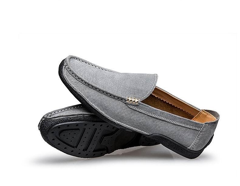 Dos cinza Desenhador O Camurça Do Em Para Tendência Cinza Loafer Homem Errfc Preto Azul 44 Mocassim Sapatos De Preto Quente Da Moda azul Homens Baixos Venda Deslizamento EHnxwqCF