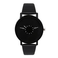 New Fashion Brand Bracelet Watches Women Men Casual Quartz Watch Leather Dress Wrist Watch Wristwatch 1201610172