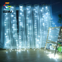 3M x 3M 300 Christmas LED Icicle String Lights Xmas Fairy Lights Outdoor Home For Wedding Party Curtain Garden Indoor Decoration
