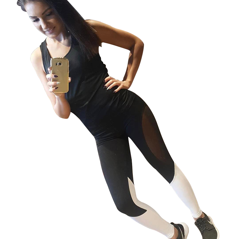 New Casual Quick Dry Mesh Trim Fitness Leggings Women Patchwork High Elastic Workout Pants Activewear For Women Sporting Legging
