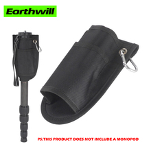Monopod special tripod. Trekking pole pockets multi-function support bag portable photography tripod