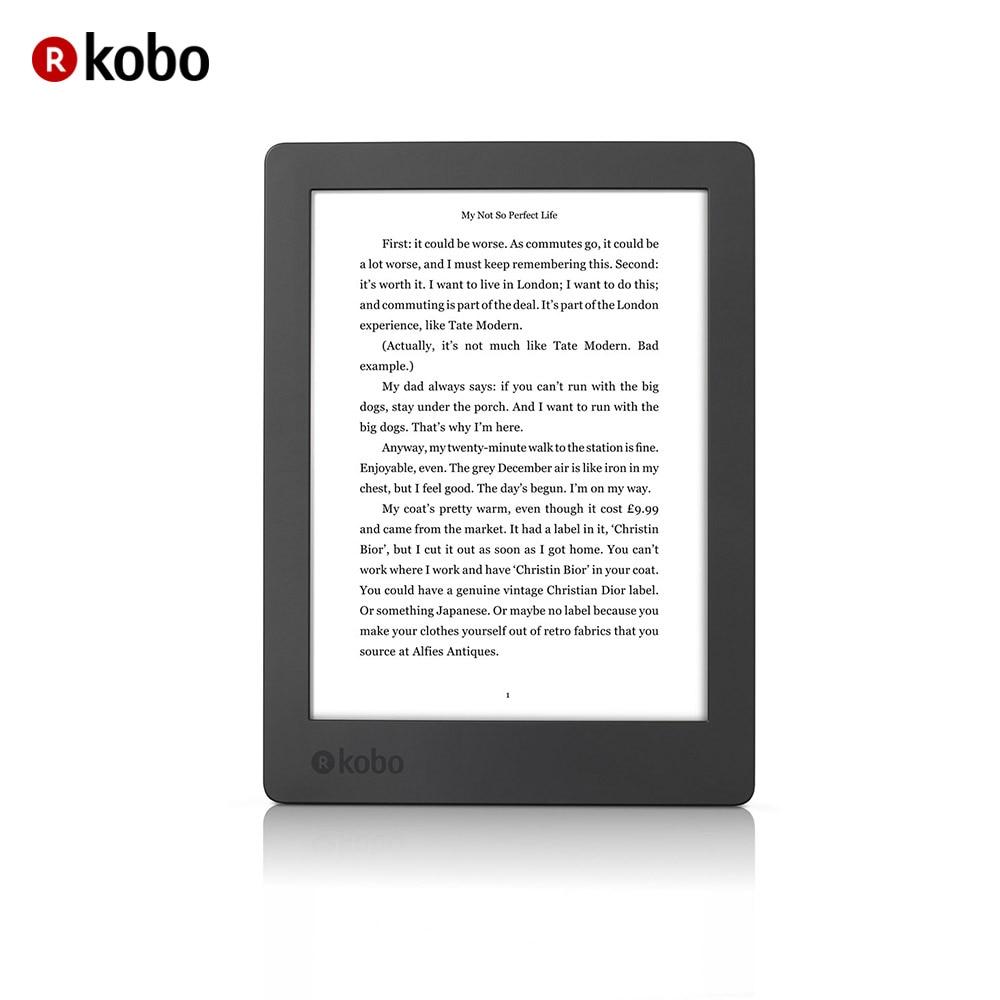 "eReader Kobo Aura H2O 2nd Edition 6.8"" Touch Waterproof Ebook reader 8GB WiFi High-Resolution Display 1440 x 1080 pixels"