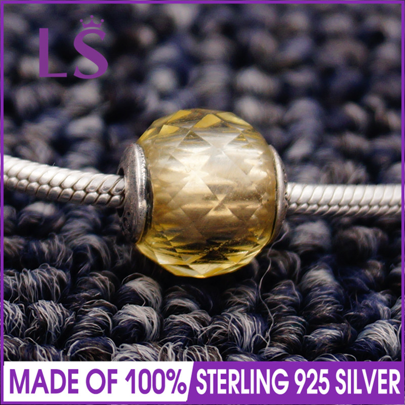 LS High Quality 100% S925 Silver Essence Optimism Charm Beads Fit Original Essence Brace ...