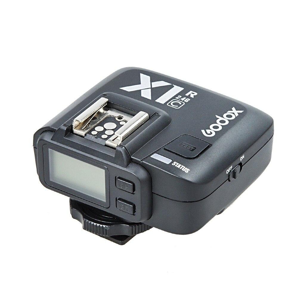 Godox X1C R TTL 2.4 G Wireless Receiver for Canon 1000D 600D 700D 650D 100D 550D 500D 450D 400D 350D 300D fsk 2 4ghz wireless flash trigger for canon dslr eos 30 33 300 300d 400d 450d 350d 2xaaa 2xaaa