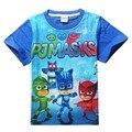 2016 crianças de moda t-shirts dos desenhos animados traje do partido menino tshirt meninas tops e blusas camisa do bebê t crianças t-shirt roupas bebês
