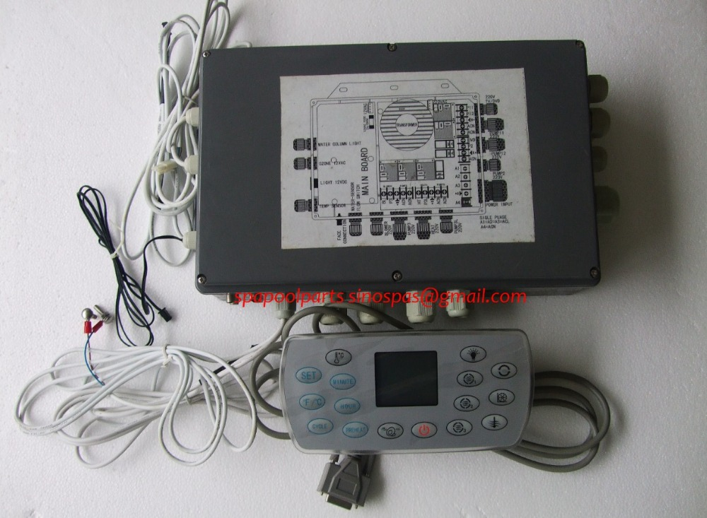set of deluxe spa controller Control unit, Power unit  & hot tub controller,suitable to JAZZI,J&J,SERVE SPA,kingston and so on sea of spa крем морковный универсальный 500 мл