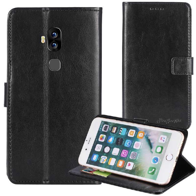 TienJueShi Lật Cuốn Sách Đứng Bảo Vệ Da Bìa Trường Hợp Đối Với Blackview S8 5.7 inch TPU Silicone Shell Wallet Etui Skin