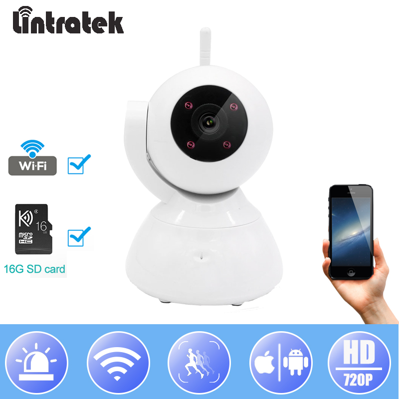 Lintratek IP Wifi Camera Video Surveillance Camera HD 720P Mini CCTV Baby Monitor Home Security Wireless Camera Ip cam#33Lintratek IP Wifi Camera Video Surveillance Camera HD 720P Mini CCTV Baby Monitor Home Security Wireless Camera Ip cam#33