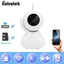 hot deal buy lintratek ip wifi camera video surveillance camera hd 720p mini cctv baby monitor home security wireless camera ipcam