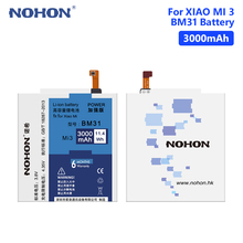 NOHON BM31 3.8V 3000mAh Lithium Li-ion Battery Mobile Phone Cell For Xiaomi Mi 3 Mi3 M3 With Install Repair Tools
