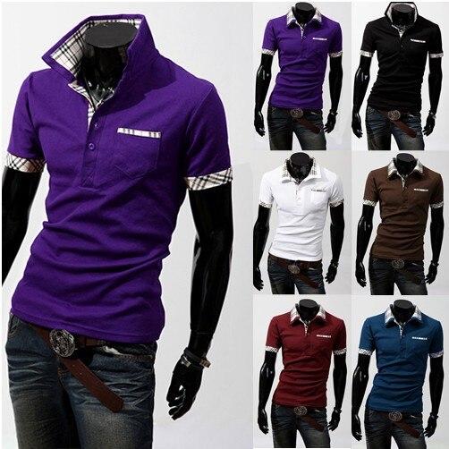 Moda Marca Camisas Para Hombre Para Hombre Ropa Hombres Casual