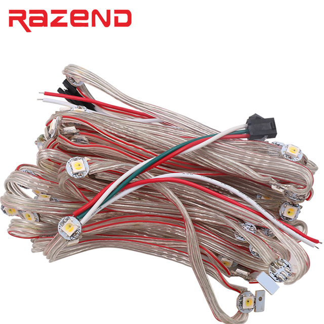 50 x Pre gelötet SK6812 WS2812B RGBW Mini Board Led string RGB ...
