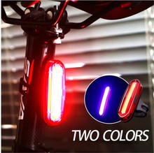 Wheel up USB Rechargeable Bike Light Red White Led Rear Saddle Taillight Mountain Bicycle Lights Tail Lamp Waterproof Cycling Ac
