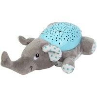 Baby Sleep Lamp LED Night Light Plush Stuffed Toys With Music Stars Projector Light Baby Toys