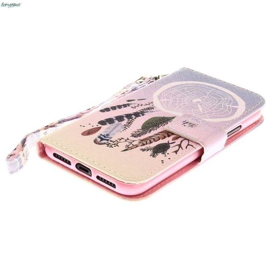 الهاتف أغطية جلد ل ASUS_Z017D ZenFone3 فليب جراب إيسوز ZenFone 3 ZE520KL Z017D Z017DA Z017DB ZE ZE520 520 520KL KL أكياس