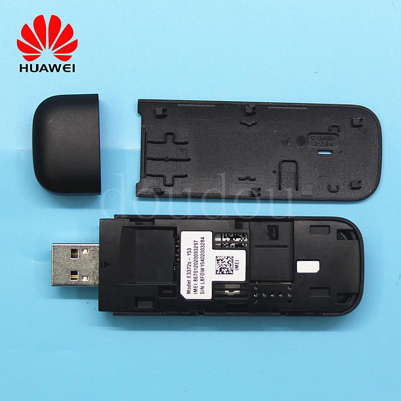 Unlocked laptop Huawei E3372 E3372s-153 4G LTE 150Mbps with Antenna 4G USB  modem 4G Dongle Modem Stick Datacard PK E8372 K5160