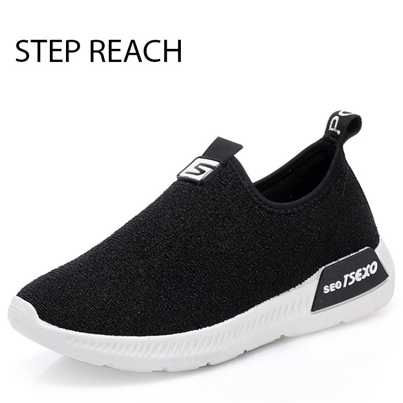 STEPREACH Brand Women Shoes Tenis Feminino Casual Shoes Outdoor breathable Walking Shoes Women Flats  Ladies Shoes zapatos mujer free shipping candy color women garden shoes breathable women beach shoes hsa21