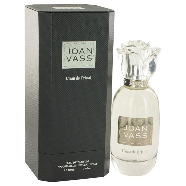 Joan Vass 514666 Leau De Cristal by Joan Vass Eau De Parfum Spray 3.4 oz стоимость